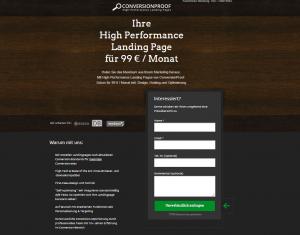 Landingpage-ConversionProof